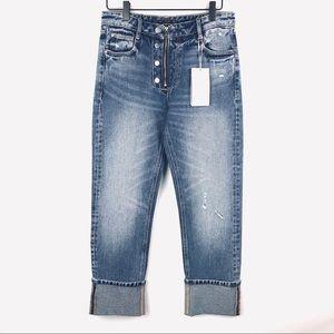 ZARA Terfulac Denim Wear Straight Leg Jeans